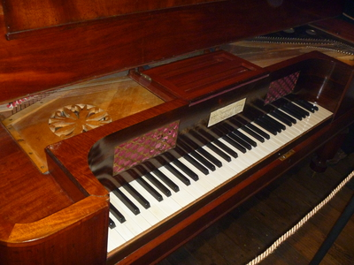 Lady Jane Franklin's Broadwood Piano 1836