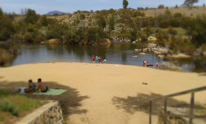 pine island, swimming, river swimming, murrumbidgee river, canberra, ACT,