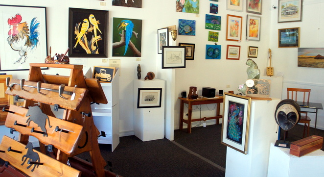 Queen Bee's Collective is one of 3 places in Forest Hill to shop for arts, crafts and gifts