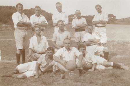 Rottnest Island Football Club, 1915 (NAA: PP14/1, 5/15/3)