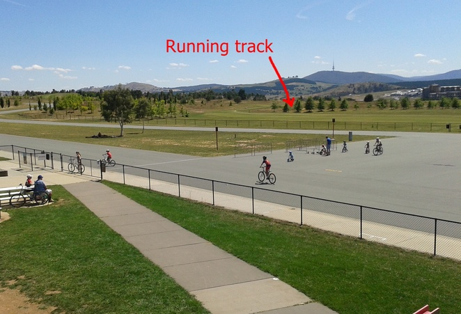running track, stomlo, canberra, ACT, stromlo forest park, best runs, jogging paths