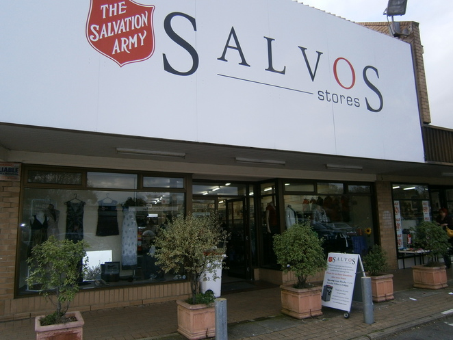 salvos, blackwood, op shops, charity shop