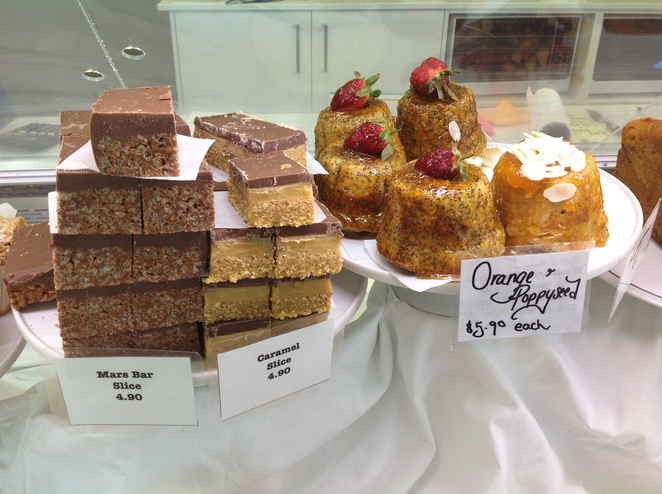 slices, sweet treats, The Roses Cafe