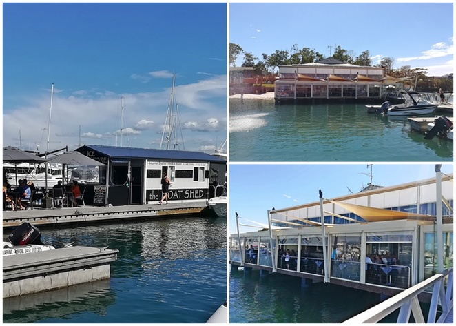soldiers point marina, the deck, the point, boat shed cafe and general store, thou walla, soldiers point, port stephens, restaurants, cafes, lunch, dinner, things to do at soldiers point, sunset beach, walks, near thou walla,