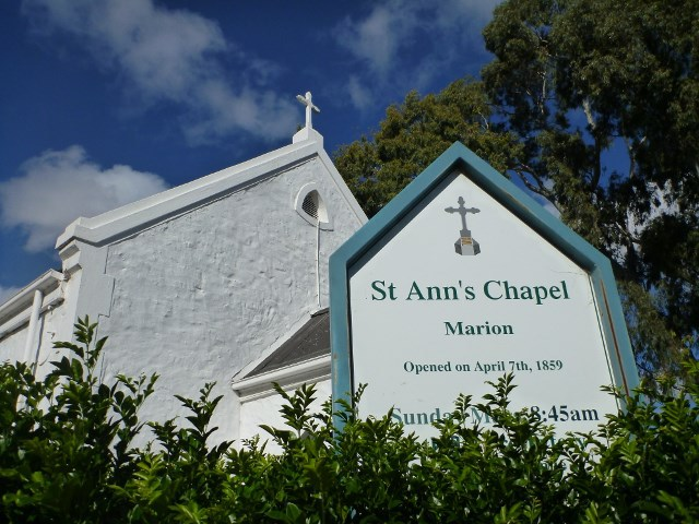 St Ann's Church near Annie Doolan's Cottage, Marion, Adelaide