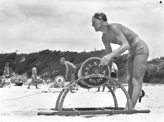 surf lifesaving reel, lester ormsby, bondi beach, lifesaver, australian inventions, australian inventors, inventions, inventors,