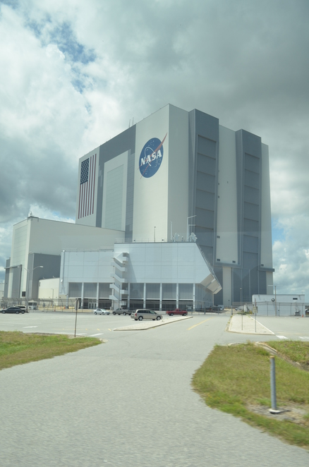 The Kennedy Space Center Visitor Experience, Bus Tour, Vehicle Assembly Building