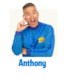 The Wiggles, apples, bananas, tour, kids, concerts, music, dorothy the dinosaur, Anthony
