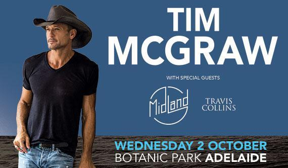 tim mcgraw adelaide