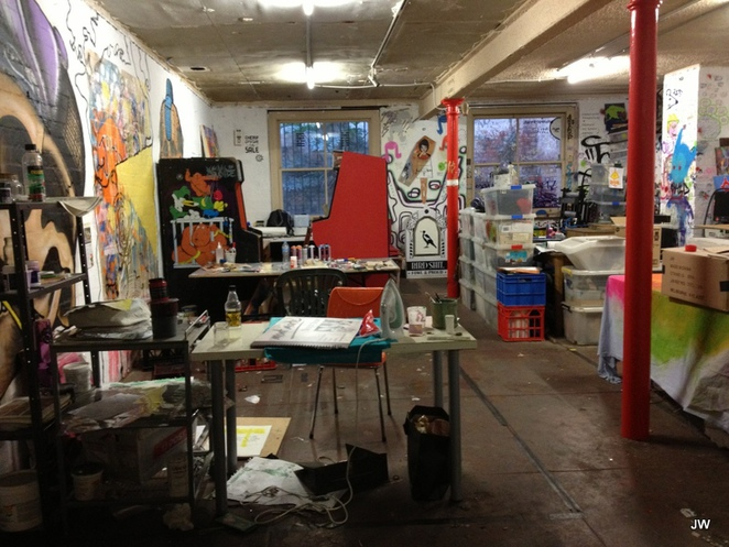 Tooth and Nail, Art Gallery, Screenprinting, artists' studios, Coromandel Place