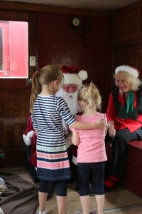 Santa Gives Gifts to the Children