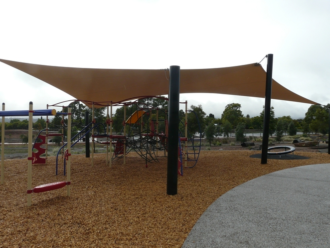 undercover, climbing, playground, sail, flying fox