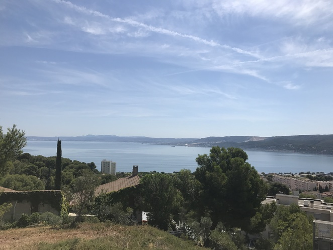 View from The windmill in Martigues