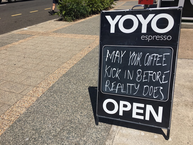 yoyo espresso, coffee, breakfast, lunch, mooloolaba, sunshine coast,