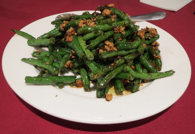 Minced Pork with Olives Mustard & Long Bean, Ding Hao