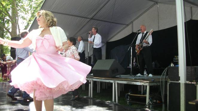 Dancing to the 50s music