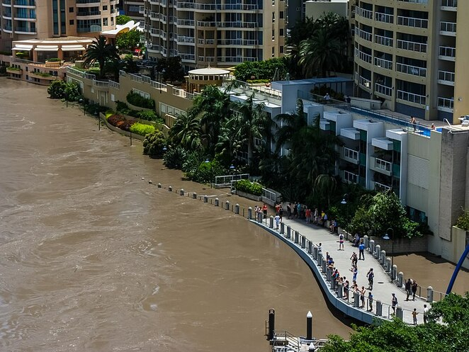 The floods of 2011