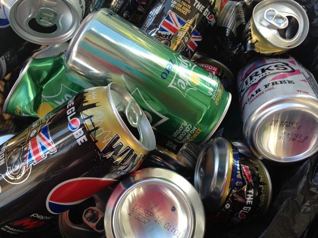 Aluminum Cans, Can collecting