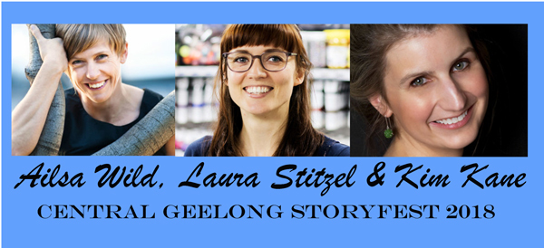 Author Events For Storyfest Geelong 2018