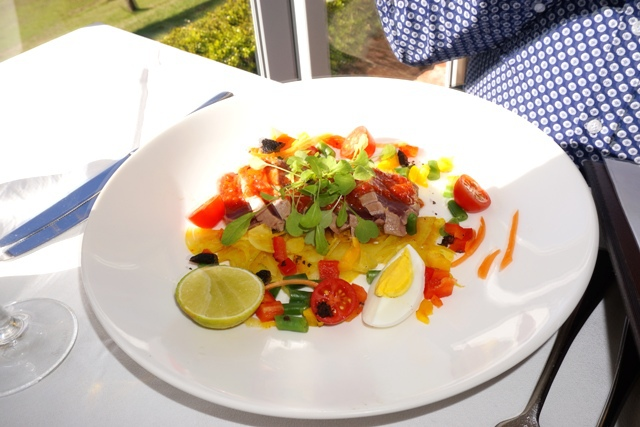 Bistro Molines, French Cuisine, Hunter Valley, Restaurants, Yellow Fin Tuna