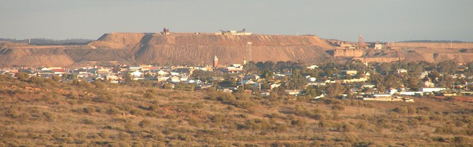 Broken Hill, Line of Lode, Outback, New South Wales