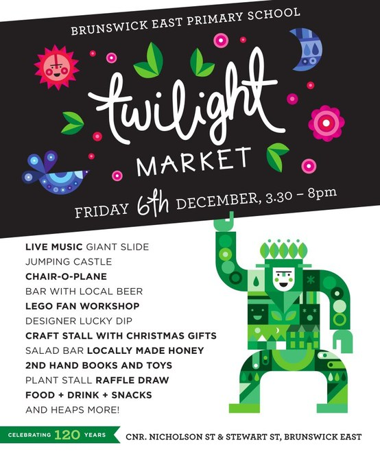 Brunswick East Primary School Twilight Market