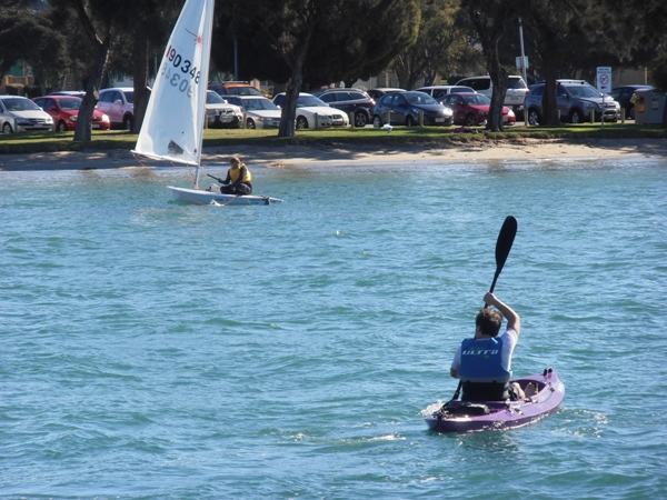 Mandurah's waterways are a paddler's paradise.