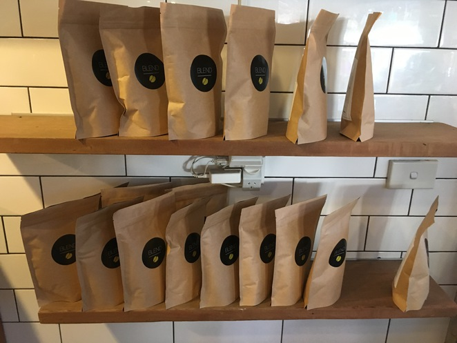 Cassiopeia Coffee, coffee beans, coffee grinds, cafe springwood, cafe katoomba