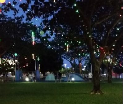 Christmas lights, Darwin, free, family, Christmas event for family,