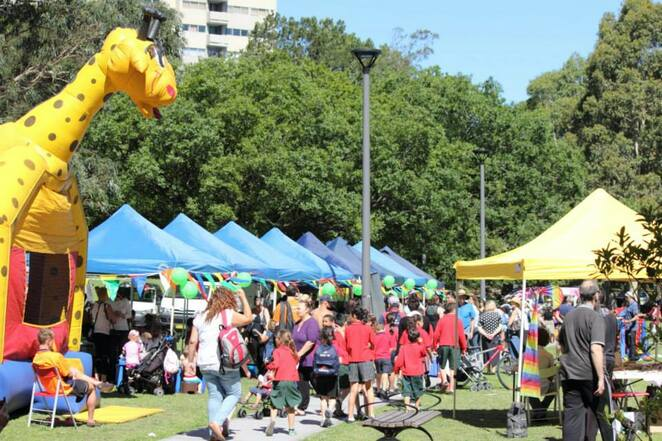 Counterpoint Community Services event in waterloo green sydney