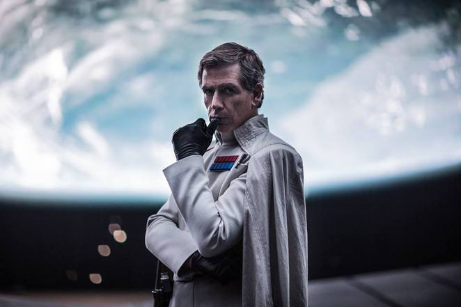 Director Krennic played by Ben Mendelsohn - Rogue One: A Star Wars Story