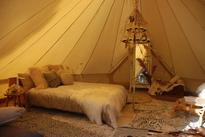 Wildflower Bell Tent Hire