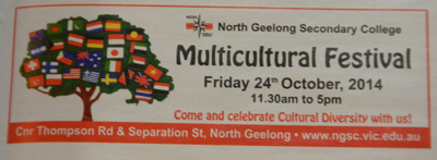 North Geelong Secondary College Multicultural Festival