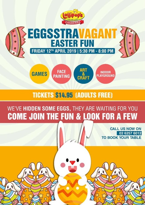 Easter events for families in Canberra