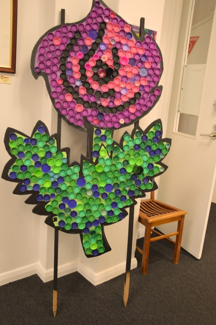 flowers bottletops renew sala