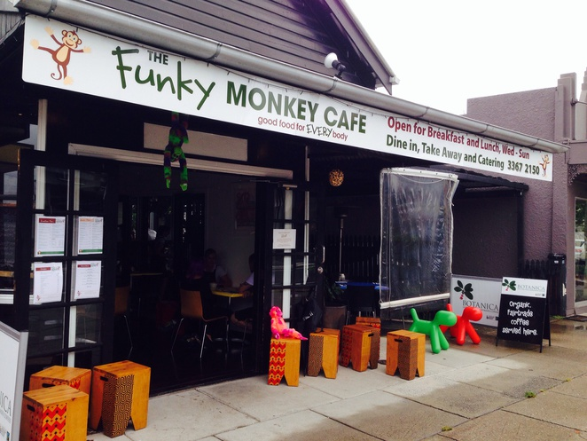 Funky Monkey, paddington, cafe