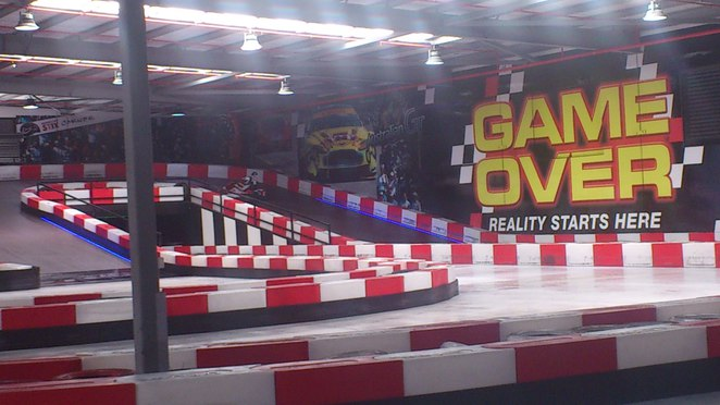 Game Over Indoor Go Kart Track