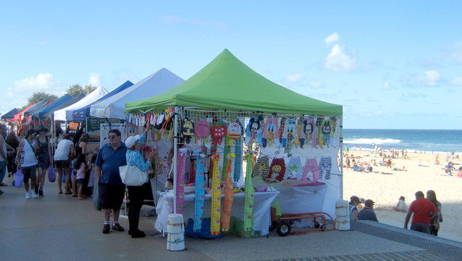 Beachfront Markets at Surfers Paradise