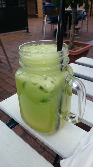 green, juice, sol, cafe, baulkham, hills, cucumber, mint, apple, spinach