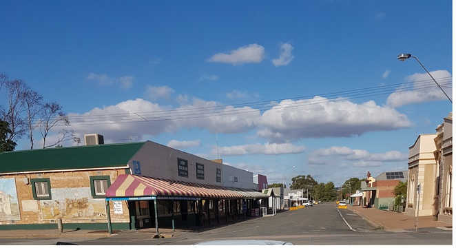 Historic Buildings at Snowtown, South Australia
