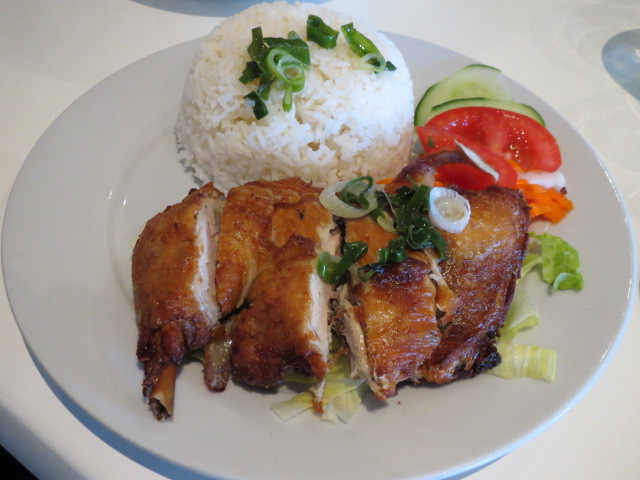Huynh's Kitchen, Crispy Chicken with Rice, Adelaide