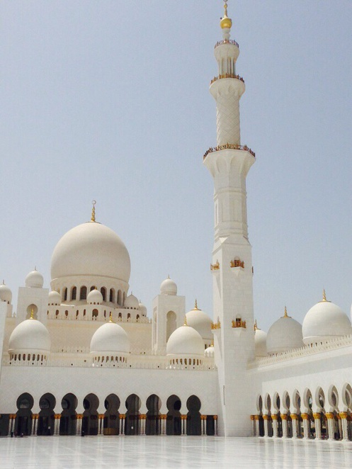 The breathtaking grand mosque