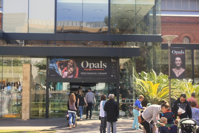 Opals Exhibition at the South Australian Museum