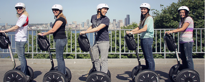 Photo courtesy of Kangaroo Segway Tours