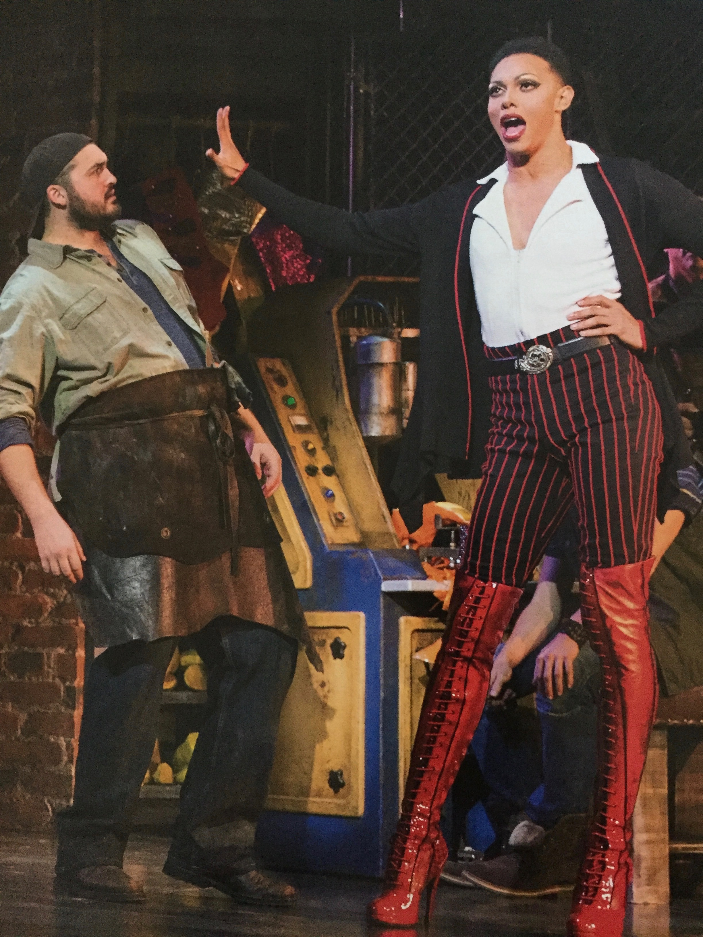 Kinky boots at her majesty 39 s theatre melbourne by for Kinky boots cyndi lauper