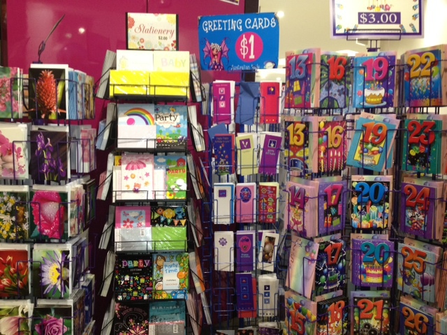 lollies, sweet box, party goods, birthday cards, US sweets, chocolate