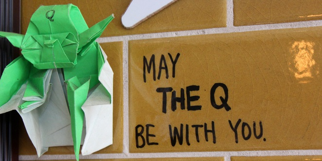 May the Q be with you
