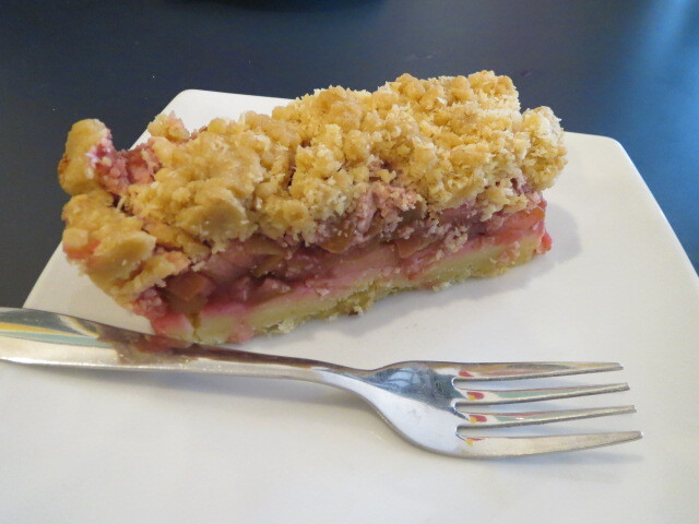 Mekko Market & Café, Apple and Raspberry Slice, Adelaide