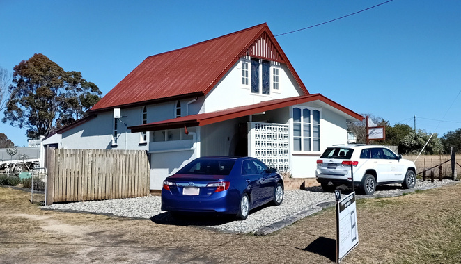 Stay in an old church in Stanthorpe