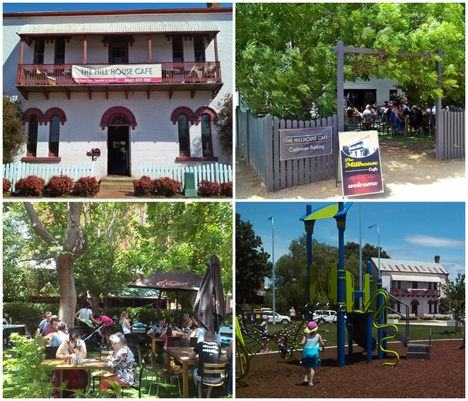 millhouse cafe, queanbeyan, cafe, queen elizabeth park, water play park, splash park, canberra